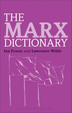 The Marx Dictionary cover