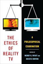 The Ethics of Reality TV cover