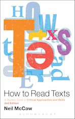 How to Read Texts cover