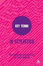 Key Terms in Stylistics cover