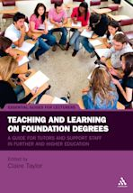 Teaching and Learning on Foundation Degrees cover