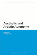 Aesthetic and Artistic Autonomy cover