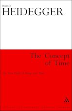 The Concept of Time cover