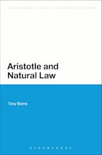 Aristotle and Natural Law cover