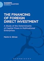 The Financing of Foreign Direct Investment cover