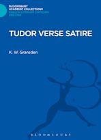 Tudor Verse Satire cover