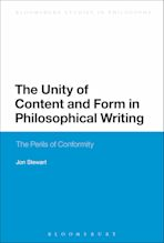 The Unity of Content and Form in Philosophical Writing cover