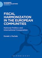Fiscal Harmonization in the European Communities cover
