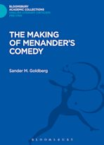 The Making of Menander's Comedy cover