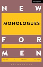 New Monologues for Men cover