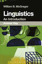 Linguistics: An Introduction Answer Key cover