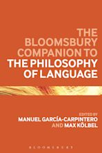 The Bloomsbury Companion to the Philosophy of Language cover