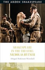 Shakespeare in the Theatre: Nicholas Hytner cover