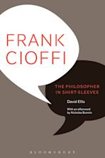 Frank Cioffi: The Philosopher in Shirt-Sleeves cover