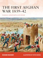 The First Afghan War 1839–42 cover