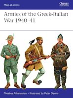 Armies of the Greek-Italian War 1940–41 cover