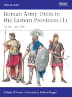 Roman Army Units in the Eastern Provinces (1) cover