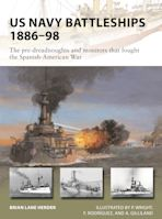 US Navy Battleships 1886–98 cover