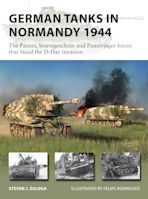 German Tanks in Normandy 1944 cover