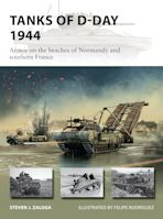 Tanks of D-Day 1944 cover