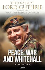 Peace, War and Whitehall cover