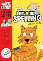 Let's do Spelling 10-11 cover