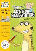 Let's do Handwriting 5-6 cover
