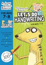 Let's do Handwriting 7-8 cover