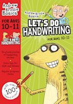 Let's do Handwriting 10-11 cover