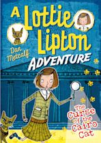 The Curse of the Cairo Cat A Lottie Lipton Adventure cover