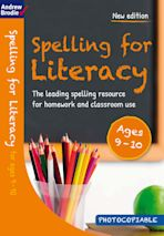 Spelling for Literacy for ages 9-10 cover