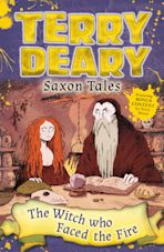 Saxon Tales: The Witch Who Faced the Fire cover