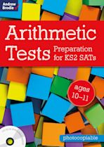 Arithmetic Tests for ages 10-11 cover