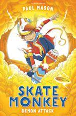 Skate Monkey: Demon Attack cover