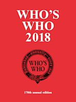Who's Who 2018 cover