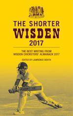 The Shorter Wisden 2017 cover