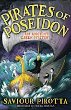 Pirates of Poseidon: An Ancient Greek Mystery cover