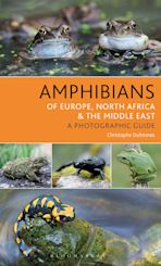 Amphibians of Europe, North Africa and the Middle East cover