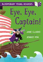 Eye, Eye, Captain! A Bloomsbury Young Reader cover