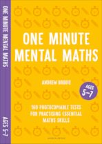 One Minute Mental Maths for Ages 5-7 cover
