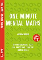 One Minute Mental Maths for Ages 7-9 cover