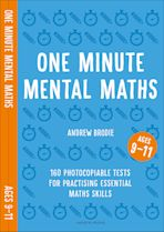 One Minute Mental Maths for Ages 9-11 cover