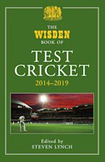 The Wisden Book of Test Cricket 2014-2019 cover