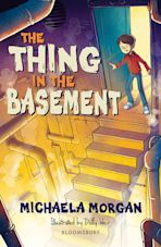 The Thing in the Basement: A Bloomsbury Reader cover