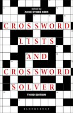 Crossword Lists and Crossword Solver cover