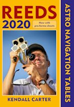 Reeds Astro Navigation Tables 2020 cover