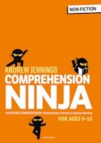 Comprehension Ninja for Ages 9-10: Non-Fiction cover