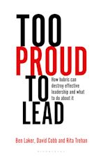 Too Proud to Lead cover