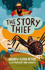The Story Thief: A Bloomsbury Reader cover