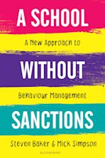 A School Without Sanctions cover